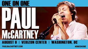 Washington DC Date Added To Pauls One On Tour