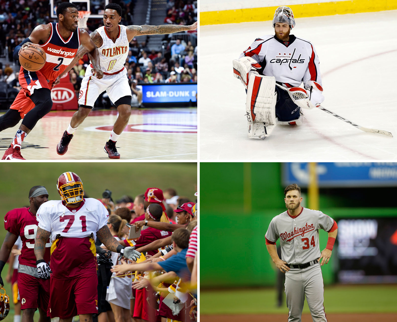 Bryce Harper? Alex Ovechkin? Who's D.C.'s most 'powerful' athlete?