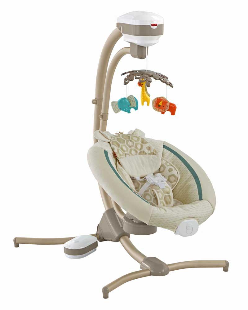 Fisher-Price recalls 34,000 cradle swings