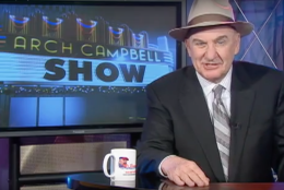 """Arch Campbell hosts """"The Arch Campbell Show"""" on News Channel 8. (YouTube)"""