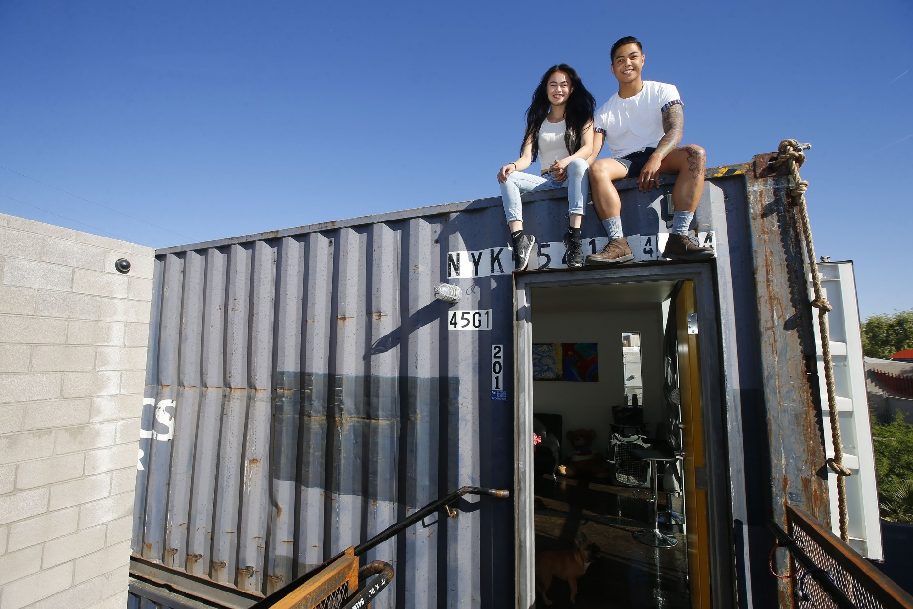 Shipping Container Projects shipping containers offer welcome homes in phoenix | wtop