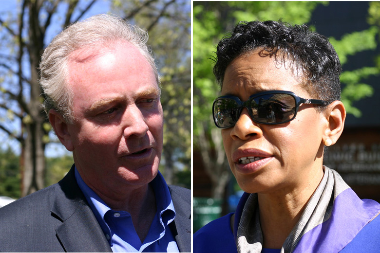 Front-runners sprint to finish in Maryland's Democratic primary race