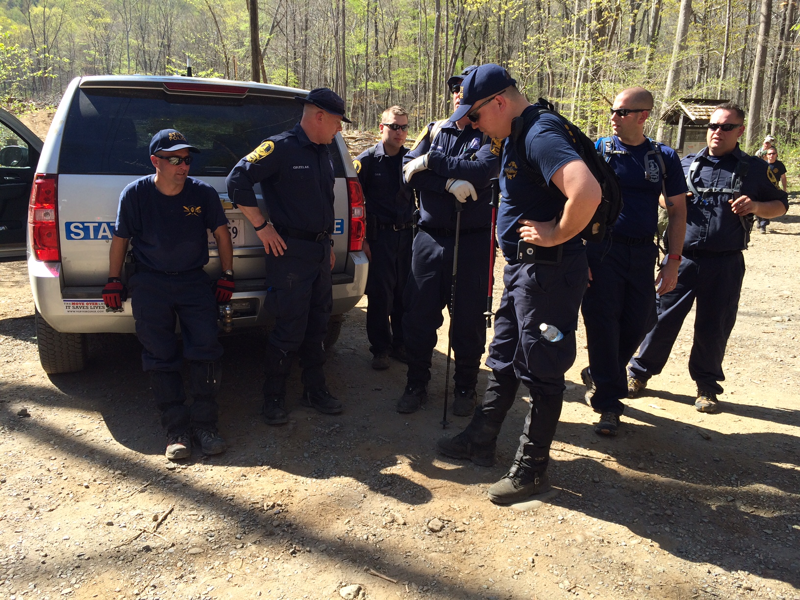 Search continues for missing firefighter as tips flood in