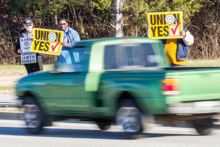 Volkswagen appealing ruling allowing UAW vote in Tennessee