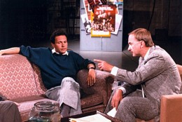 Arch Campbell interviews Billy Crystal. (Courtesy Arch Campbell)