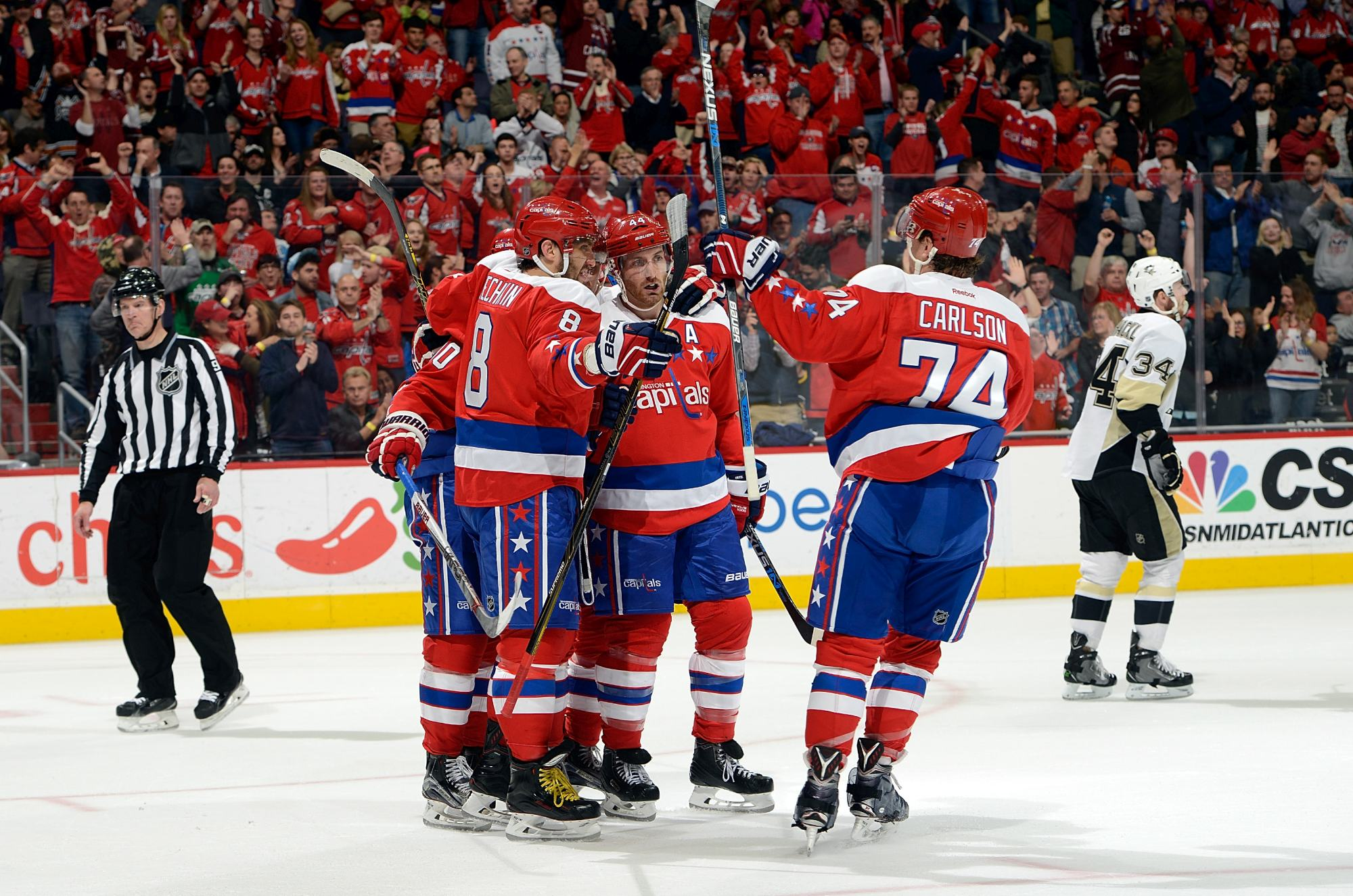 Caps Set to Meet Playoff Challenges