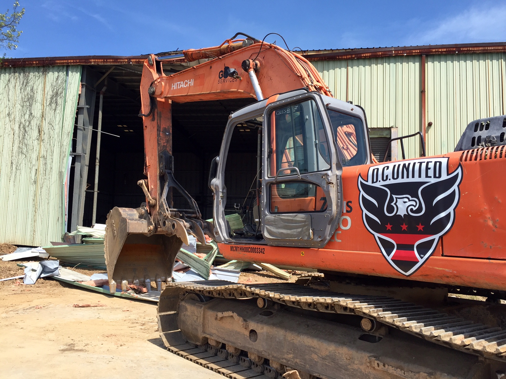 Neighbors question impact as demolition begins at DC United stadium site