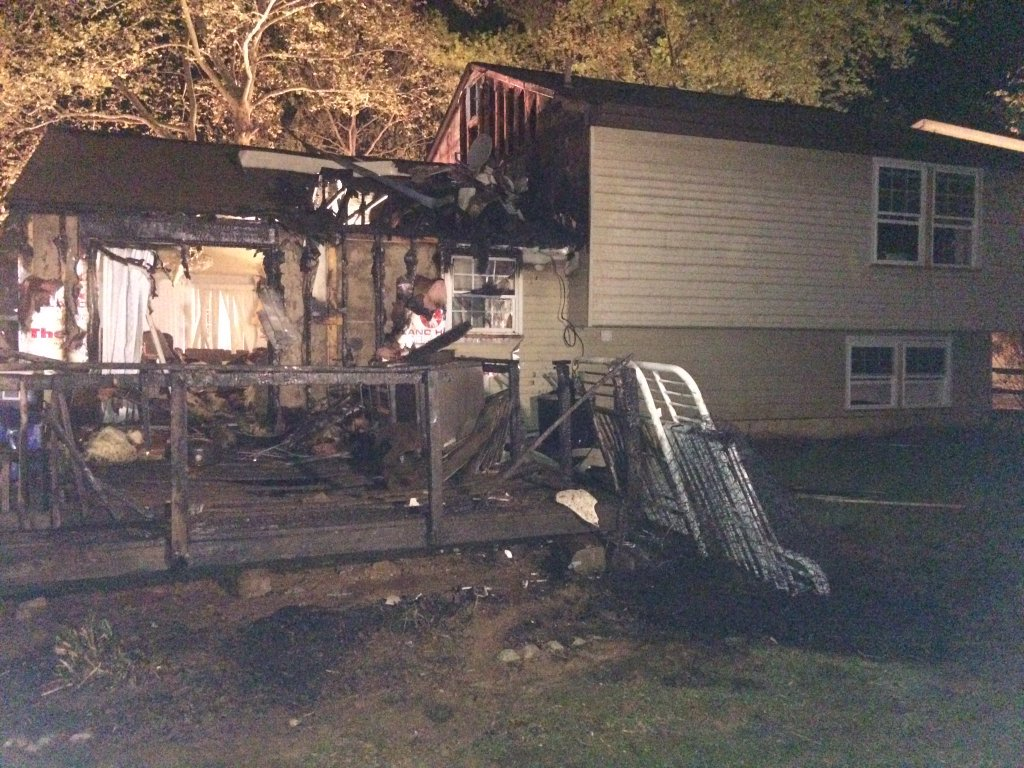 Charcoal grill causes Germantown house fire