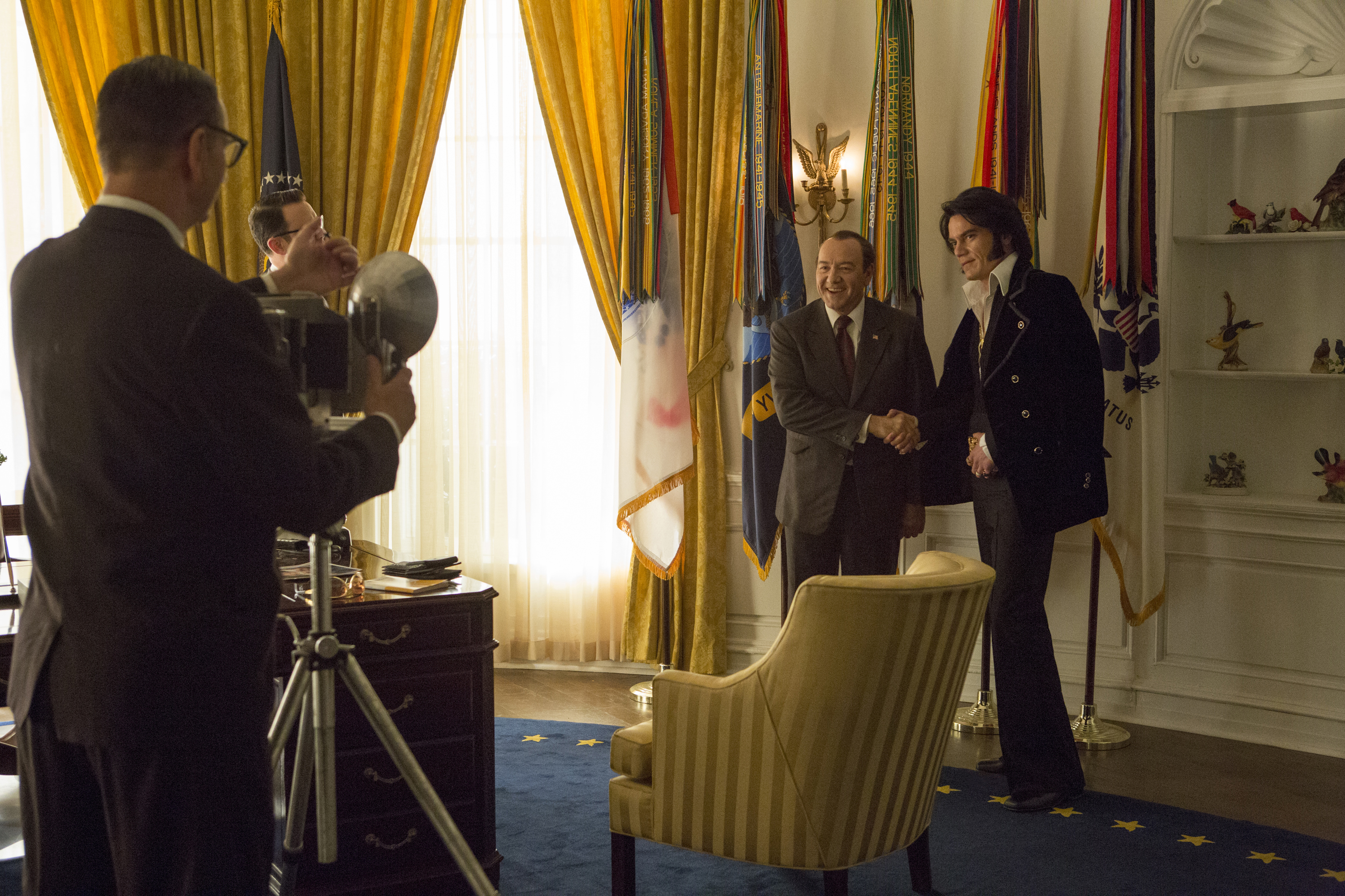 All the 'King's' Men: New comedy recalls the time Elvis met Nixon