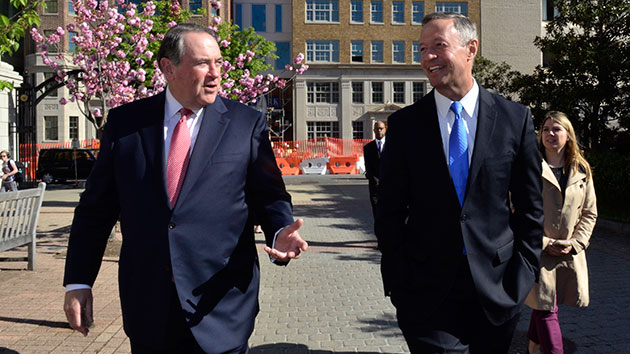 Former presidential contenders Martin O'Malley and Mike Huckabee might start a band