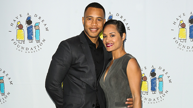 'Empire's' Trai Byers and Grace Gealey tie the knot