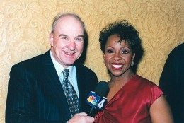 Arch Campbell interviews Gladys Knight. (Courtesy Arch Campbell)