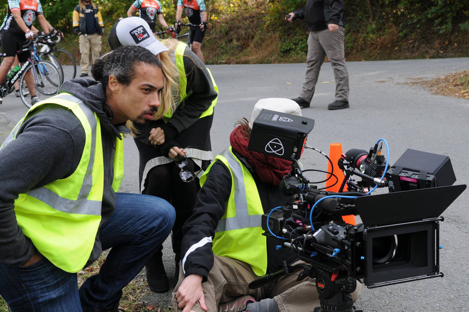 Local filmmaker's first feature film is also a first for triathlons