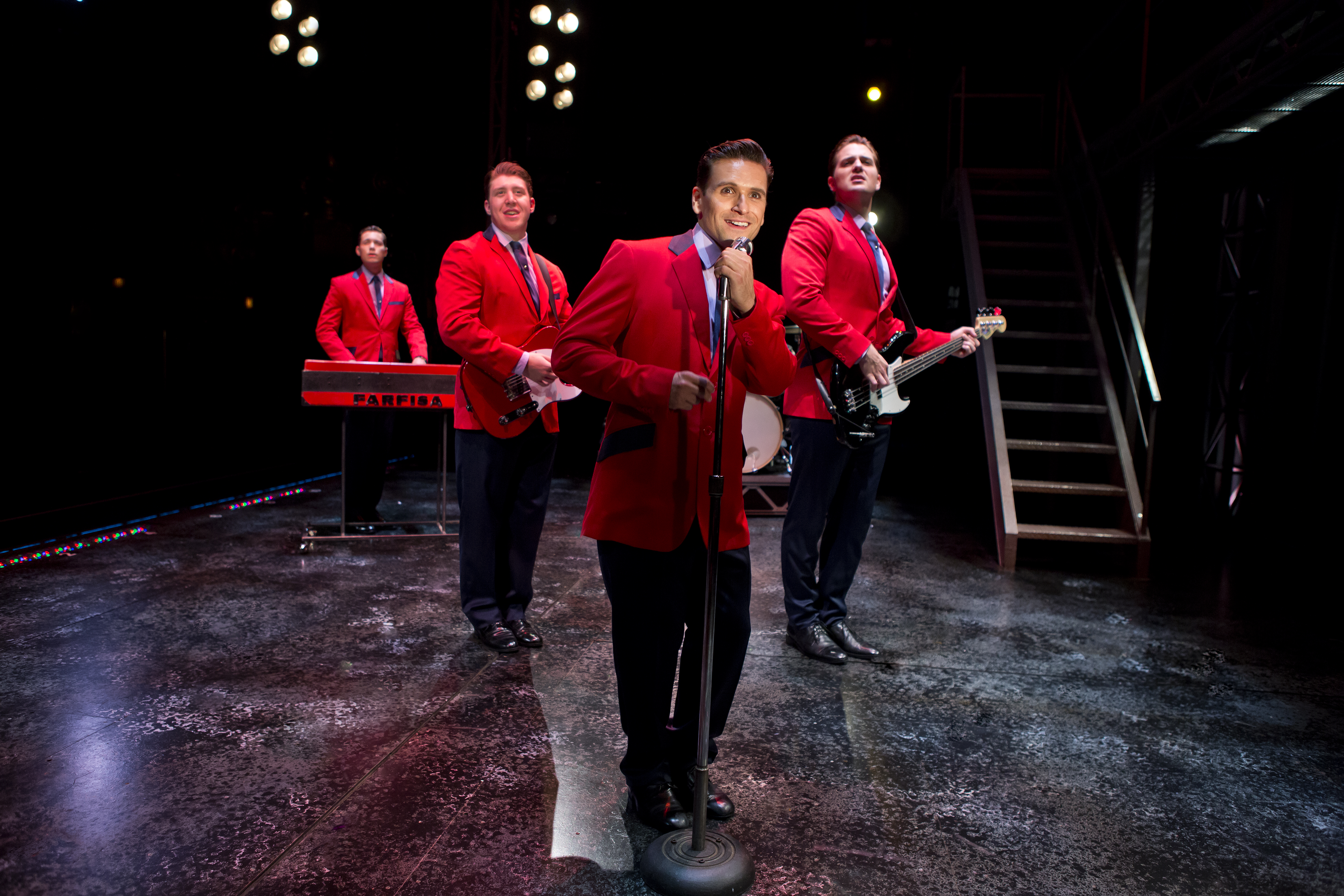 'Jersey Boys' hit Opening Day, National Theatre, National Cherry Blossom Parade