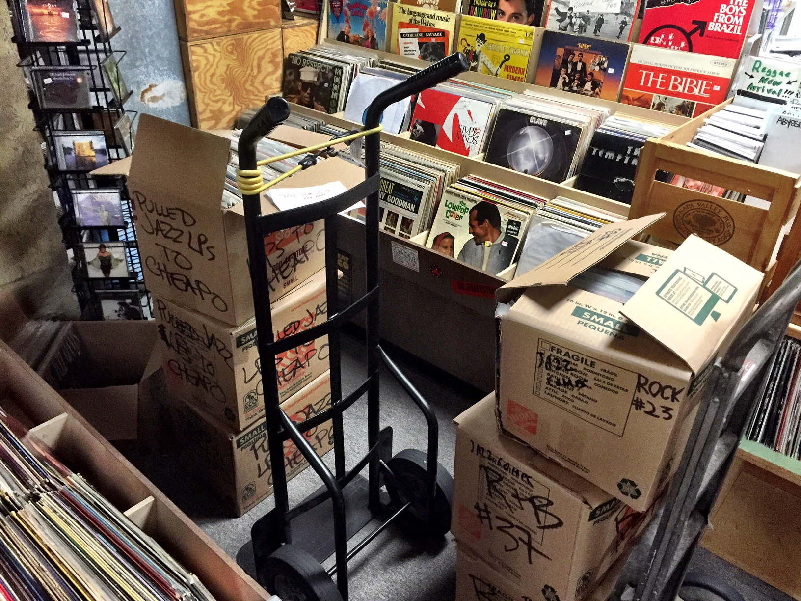 Joe's Record Paradise struggles to reopen, launches crowdfunding effort (Photos)
