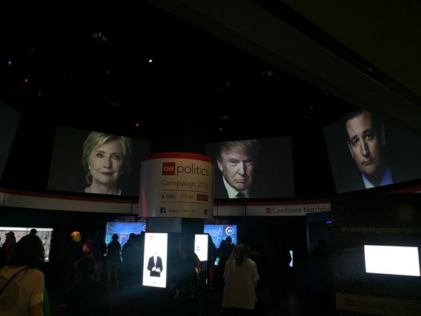 Newseum exhibit lets visitors experience campaigns up close