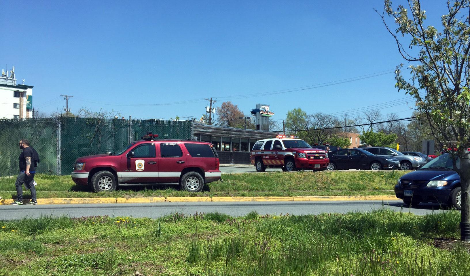 Fire guts popular College Park diner