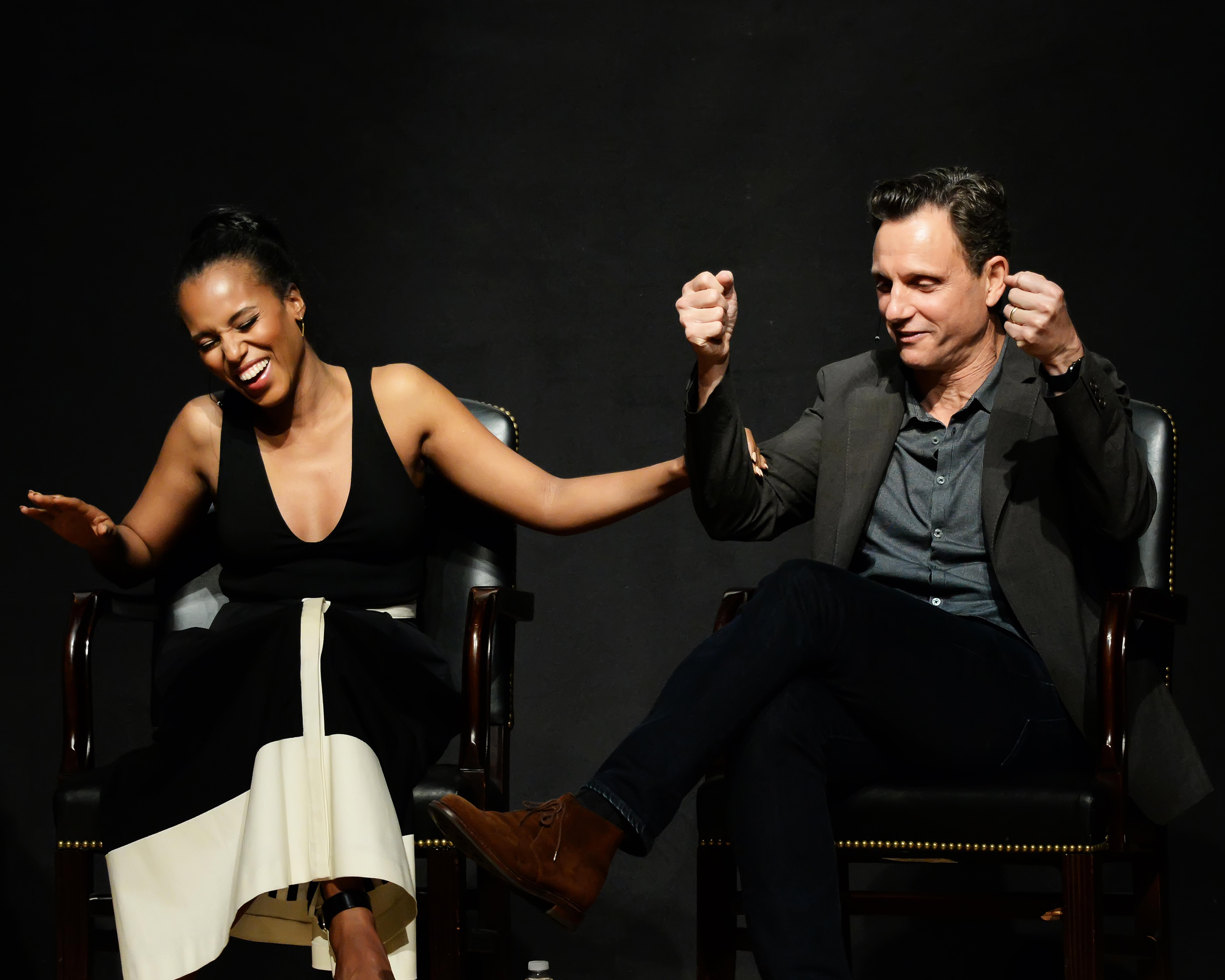 'Scandal' stars, creator discuss real vs. fictional DC