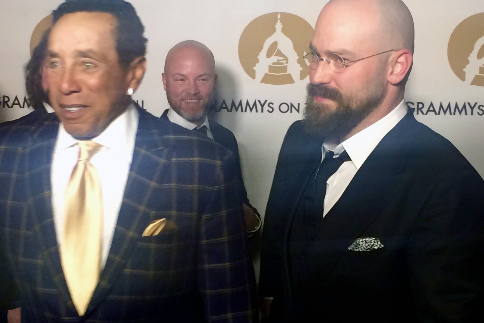Smokey Robinson and Zac Brown attend the 2016 Grammys on the Hill event at The Hamilton in Washington D.C. (WTOP/Jason Fraley)