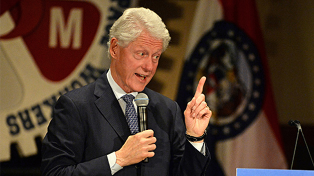 Bill Clinton clashes with Black Lives Matter protesters