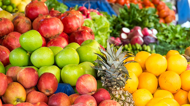 Which fruits and vegetables are most likely to contain pesticides?