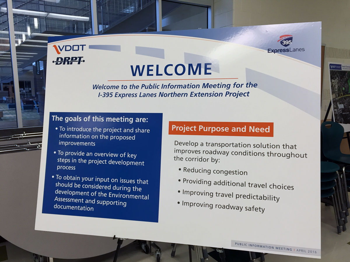 If you missed VDOT's meeting on April 11, another is planned April 13 in Alexandria. (WTOP/Michelle Basch)