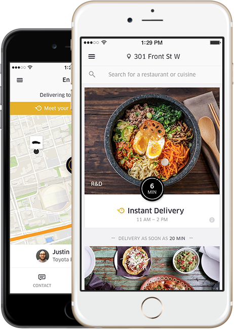 UberEATS expands to Arlington