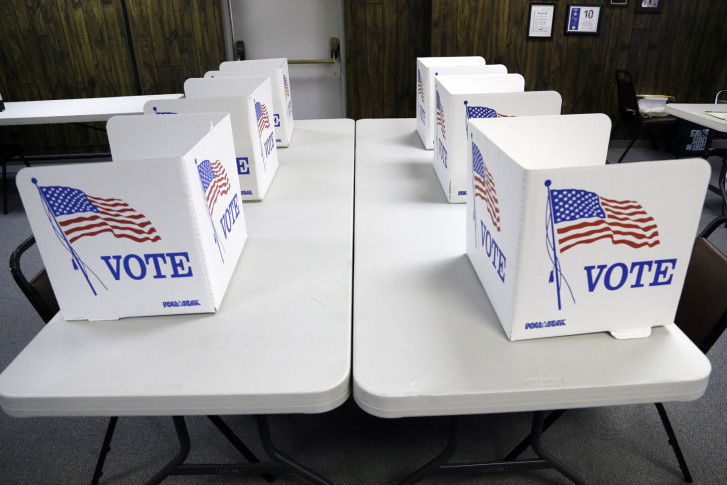 Some Maryland Voters Might Find Themselves Spending A Little Extra Time In  The Voting Booth (AP Photo/Nati Harnik)