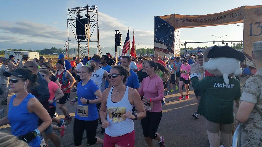 Marine Corps Marathon Historic-Half