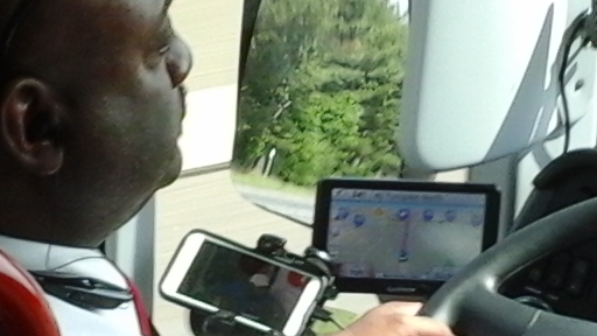 Exclusive: Bus driver watched TV on phone during DC to NYC trip, passenger says