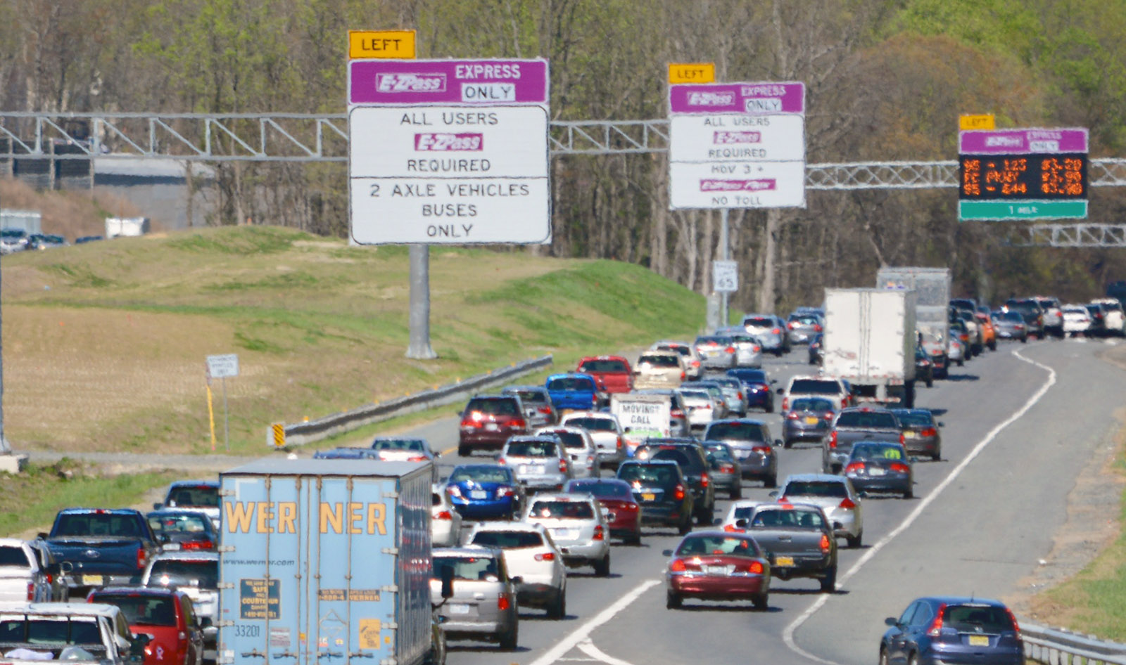 Va. approves contract to extend express lanes into Stafford Co.