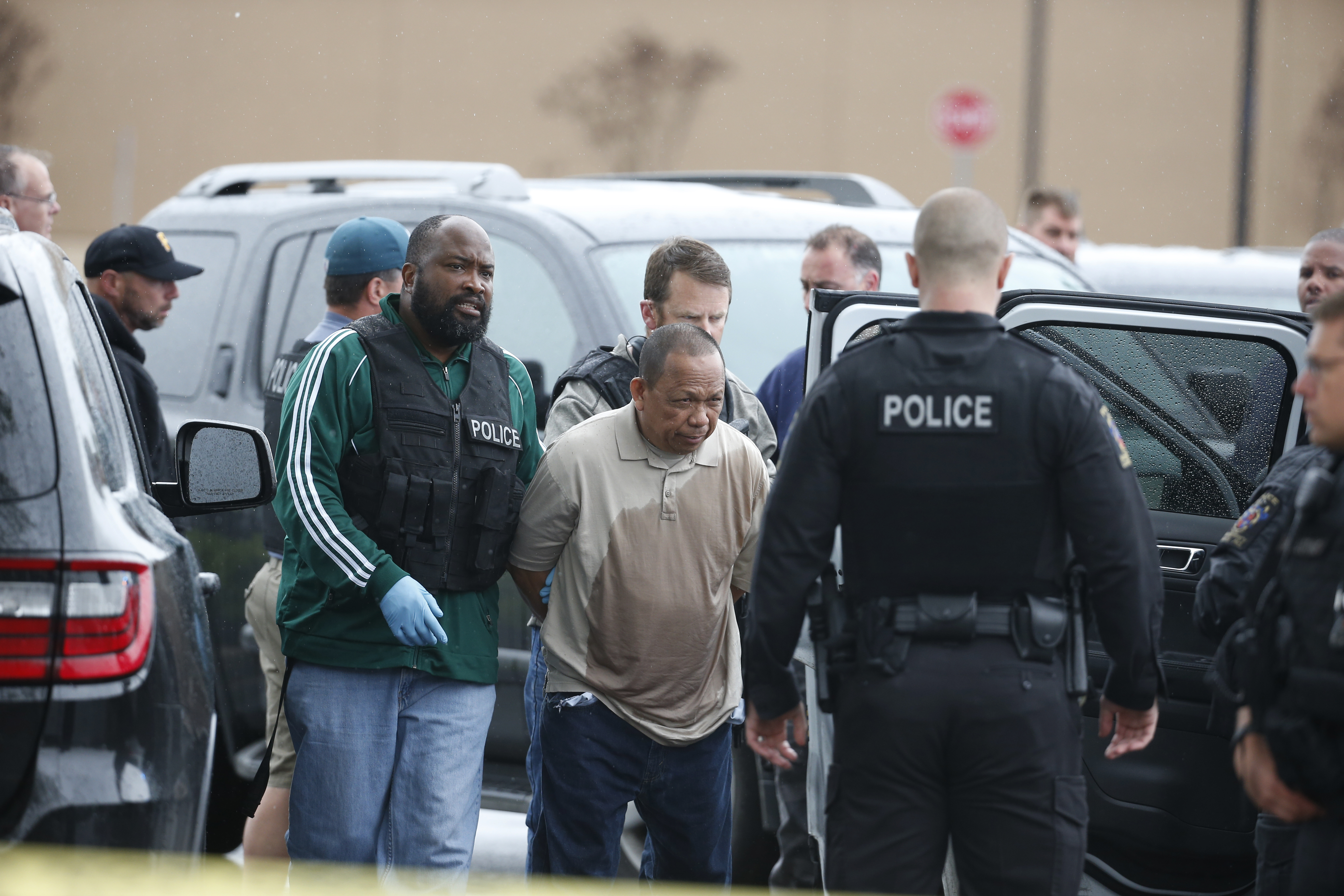 Police: no remorse from man charged in shooting spree