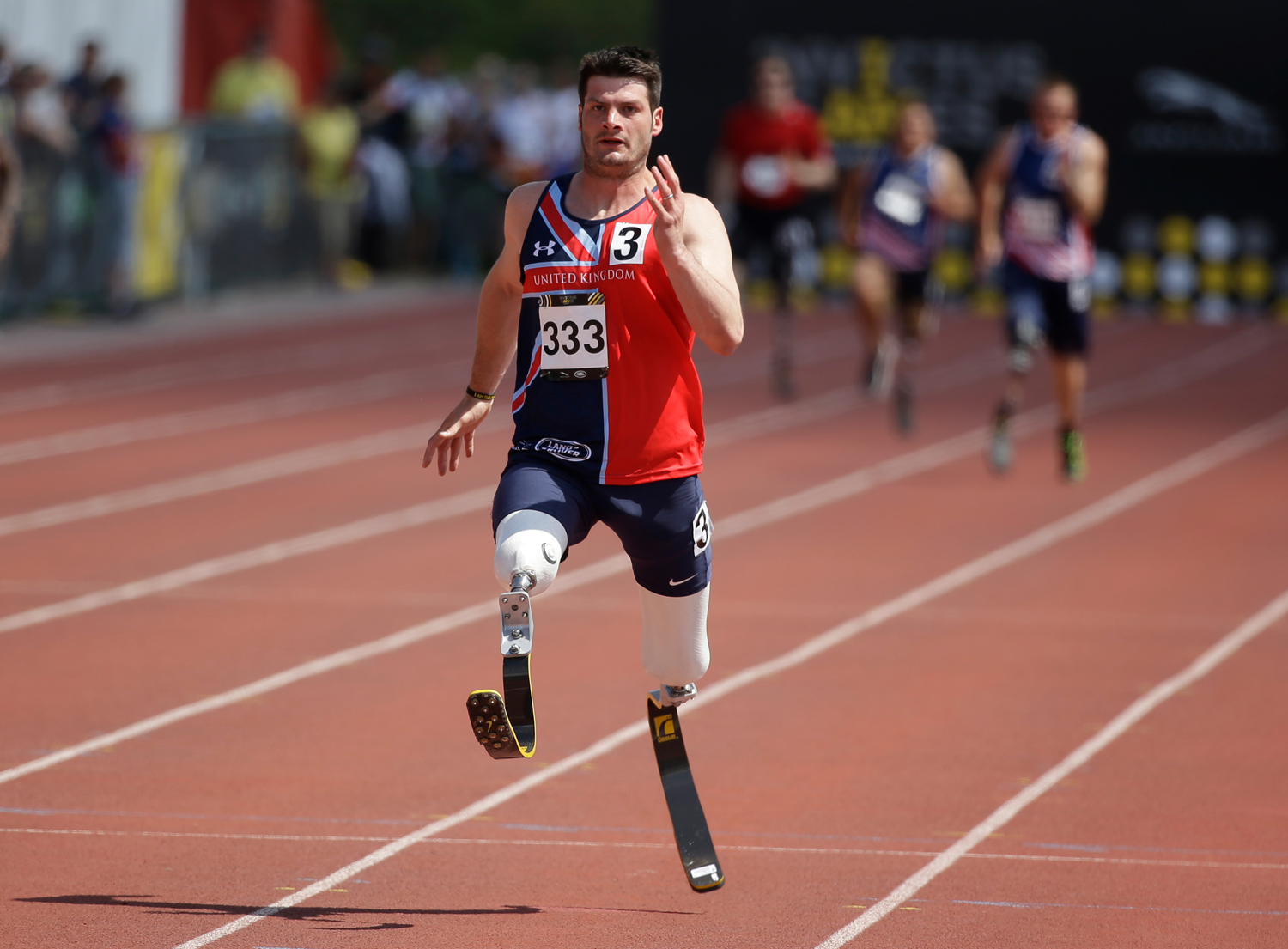 Wounded warriors compete in 2016 Invictus Games