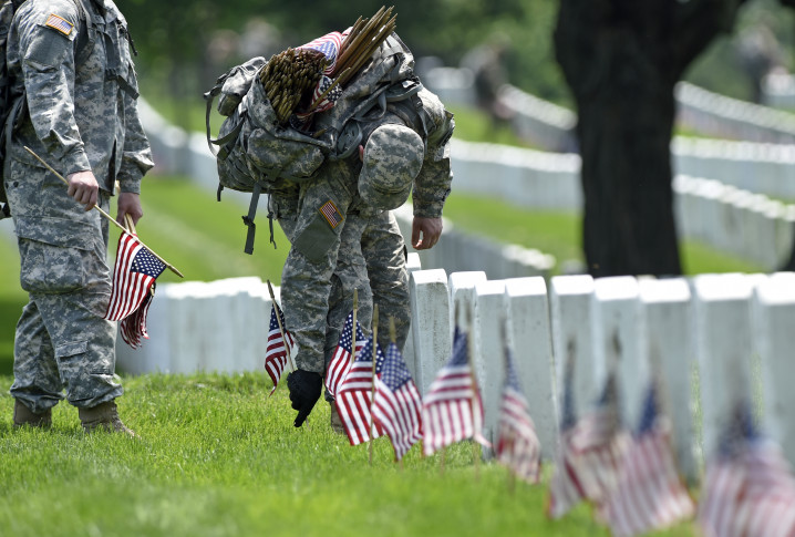 Bills puts Memorial Day flags out for 50+ years