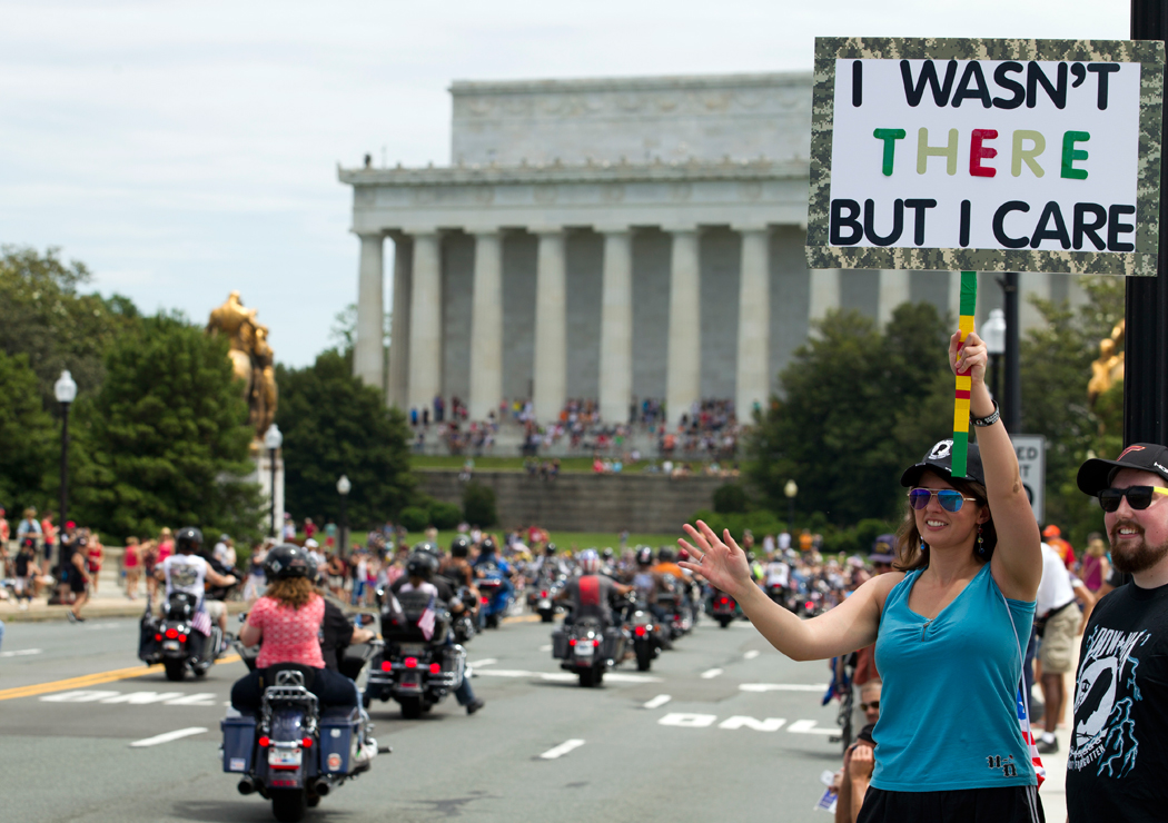 Rolling Thunder prompts a reminder about sharing road with motorcycles