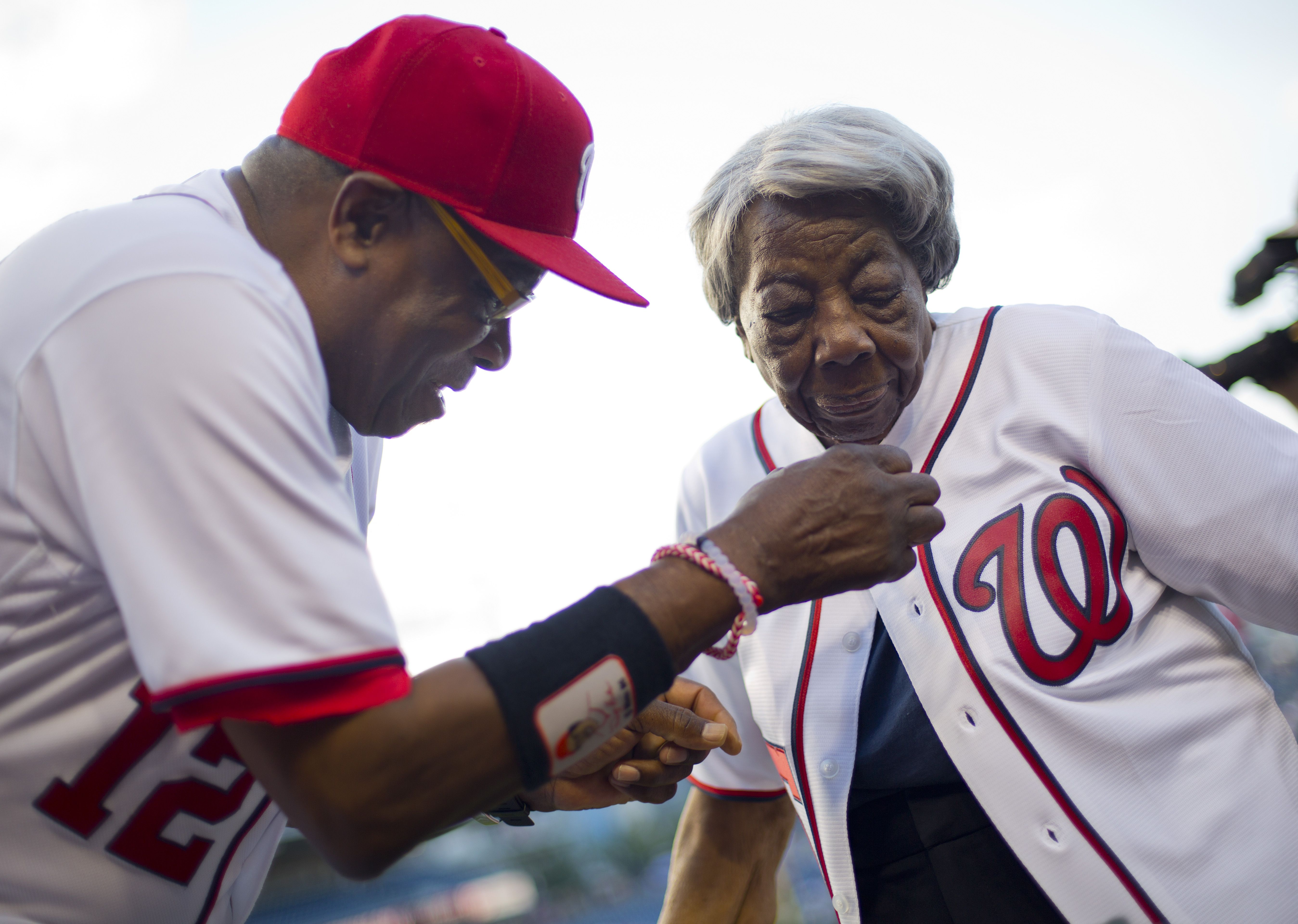 DC woman, 107, attends her 1st MLB game at Nats Park