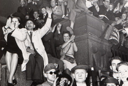 On the occasion of the ending of the Berlin Blockade, a mass manifestation took place in front of town hall Schoeneberg on May 12, 1949. AP photo shows the happy crowd. (AP Photo)