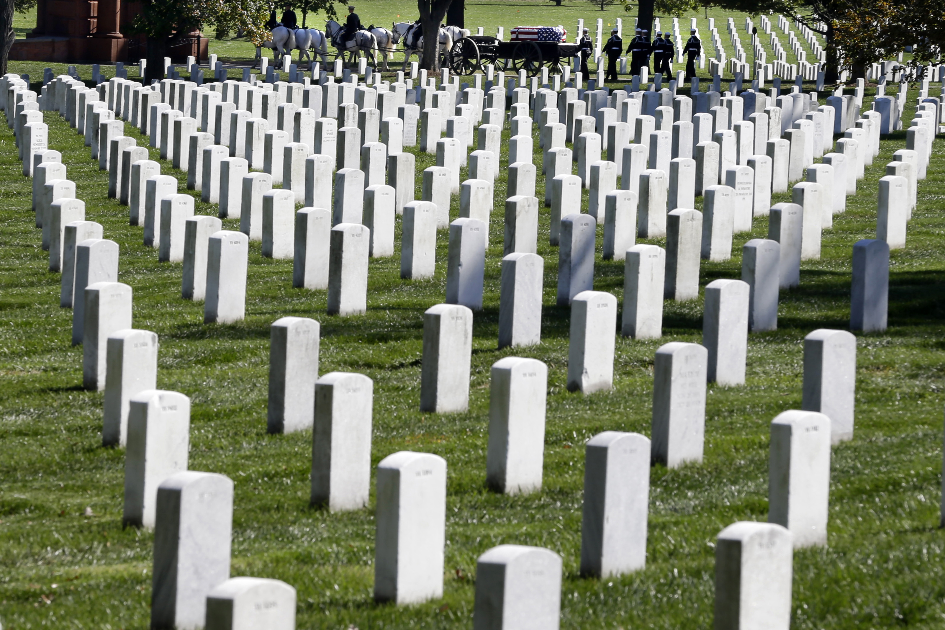 Officials talk 'tough reality' of Arlington National Cemetery's limited space