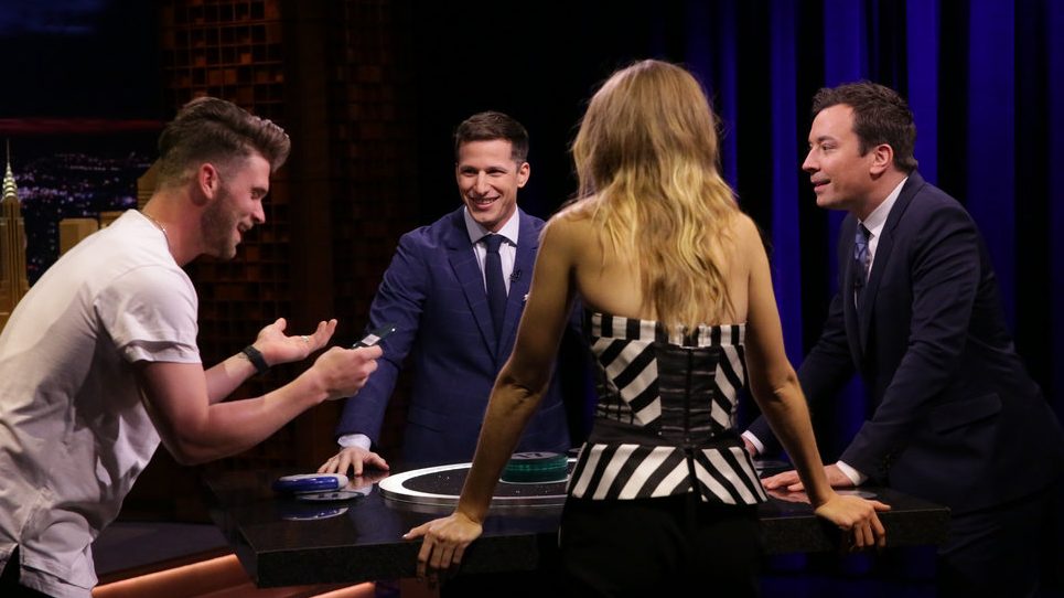 Bryce Harper appears on 'Tonight Show,' takes on Catchphrase