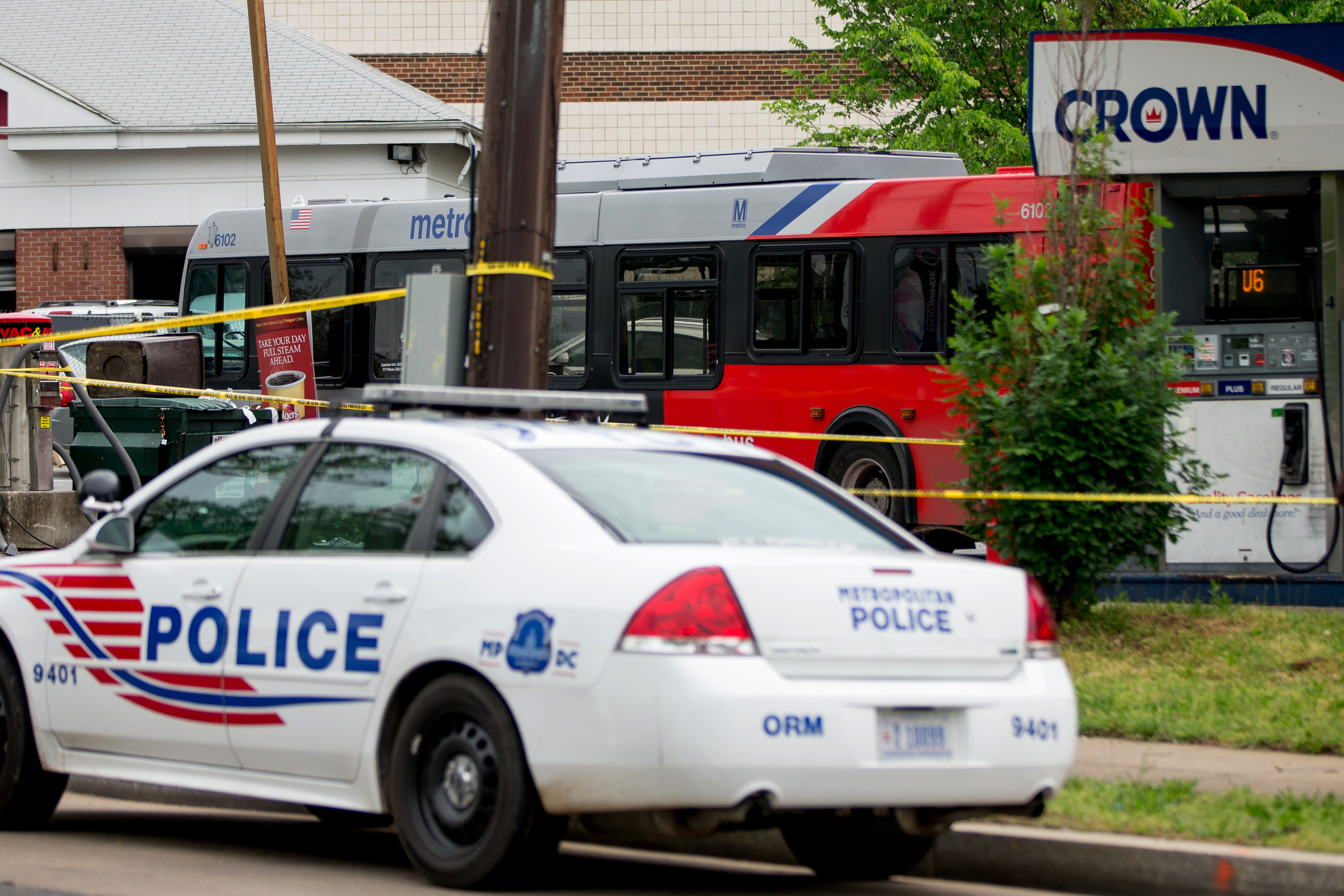 Man charged with killing pedestrian took drugs before hijacking bus