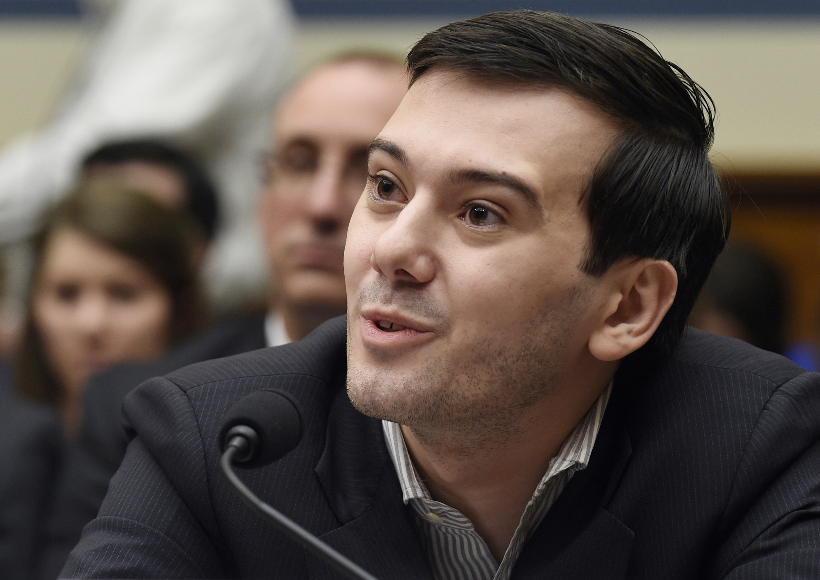 Want to punch Martin Shkreli in the face? There's a raffle for that