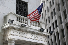 FILE - This Monday, Aug. 24, 2015, file photo shows the New York Stock Exchange. Global stocks recovered their poise Thursday, May 5, 2016, following an unconvincing start to the month, as investors became cautious ahead of U.S. jobs data that could go a long way to determining whether the Federal Reserve raises interest rates in June. (AP Photo/Seth Wenig, File)