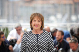 Actress Penelope Wilton poses for photographers during a photo call for the film The BFG at the 69th international film festival, Cannes, southern France, Saturday, May 14, 2016. (AP Photo/Thibault Camus)