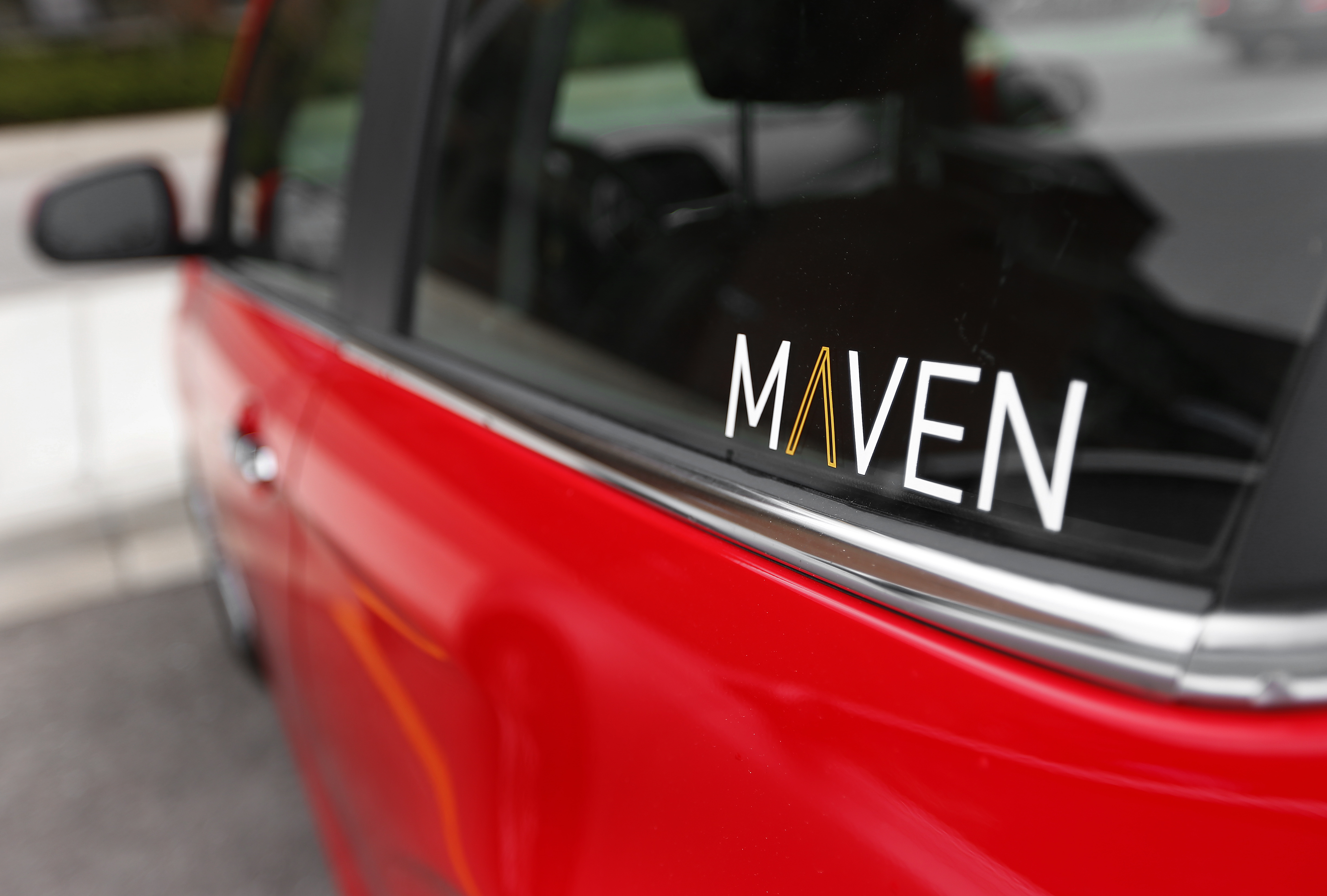 GM car-sharing service Maven opens in DC