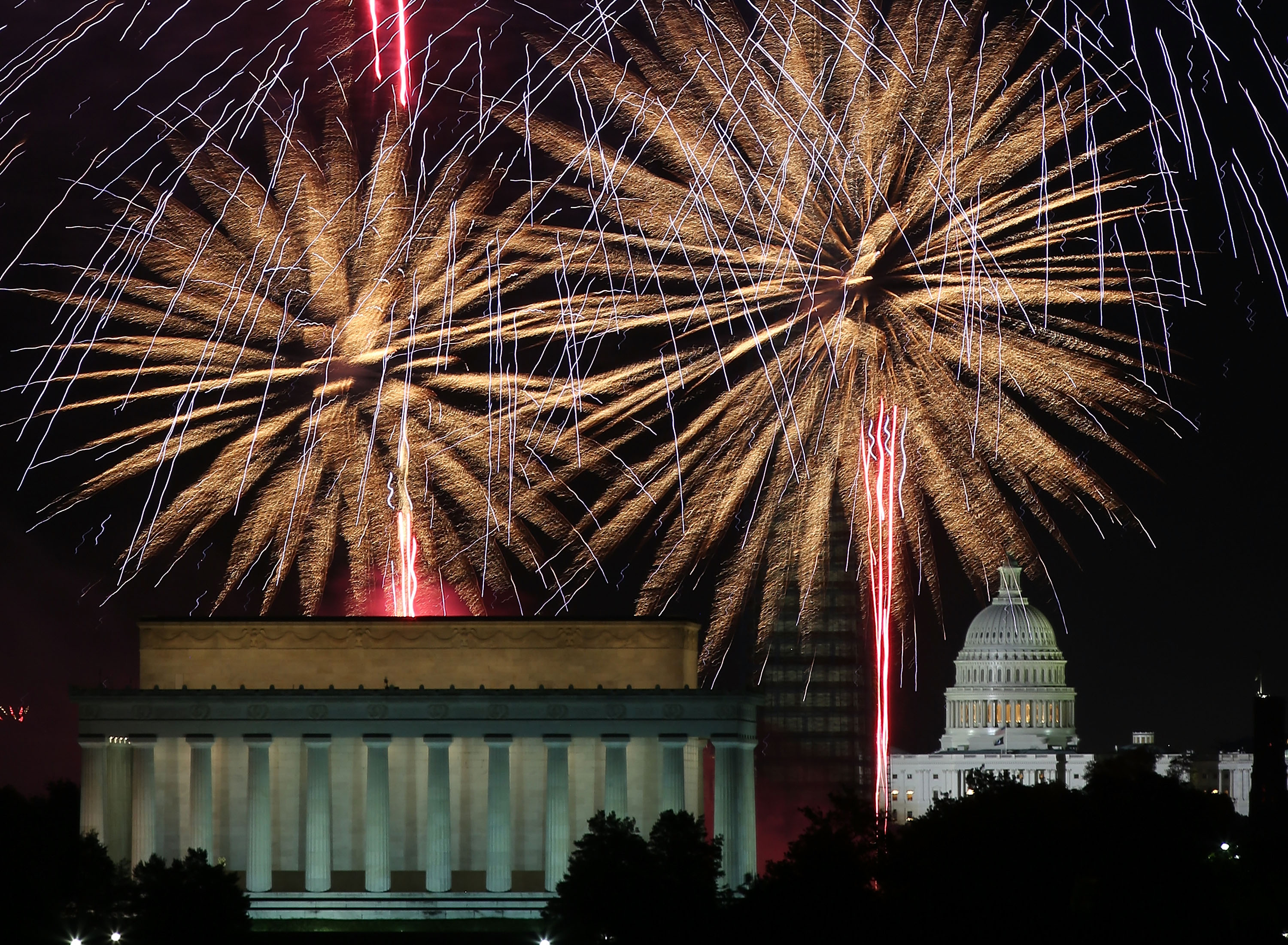 Celebrating Fourth of July in DC