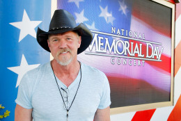 WASHINGTON, DC - MAY 28:  Country music artist Trace Adkins poses for a photo during the 27th National Memorial Day Concert Rehearsals on May 28, 2016 in Washington, DC.  (Photo by Paul Morigi/Getty Images for Capitol Concerts)
