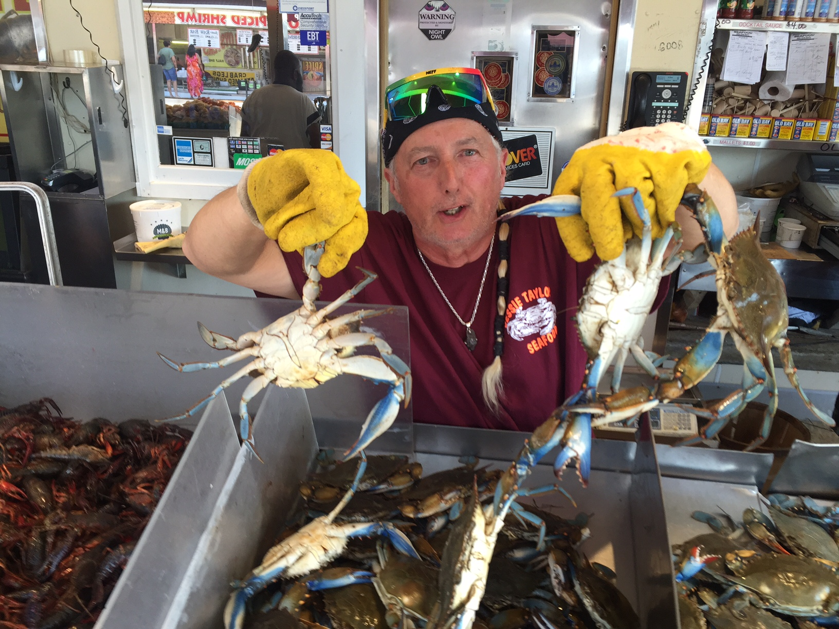 DC-area seafood sellers work to stay afloat with crab demand