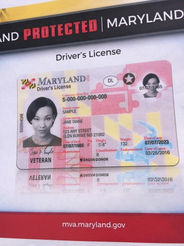 Maryland officials unveil new drivers license wtop thecheapjerseys Images