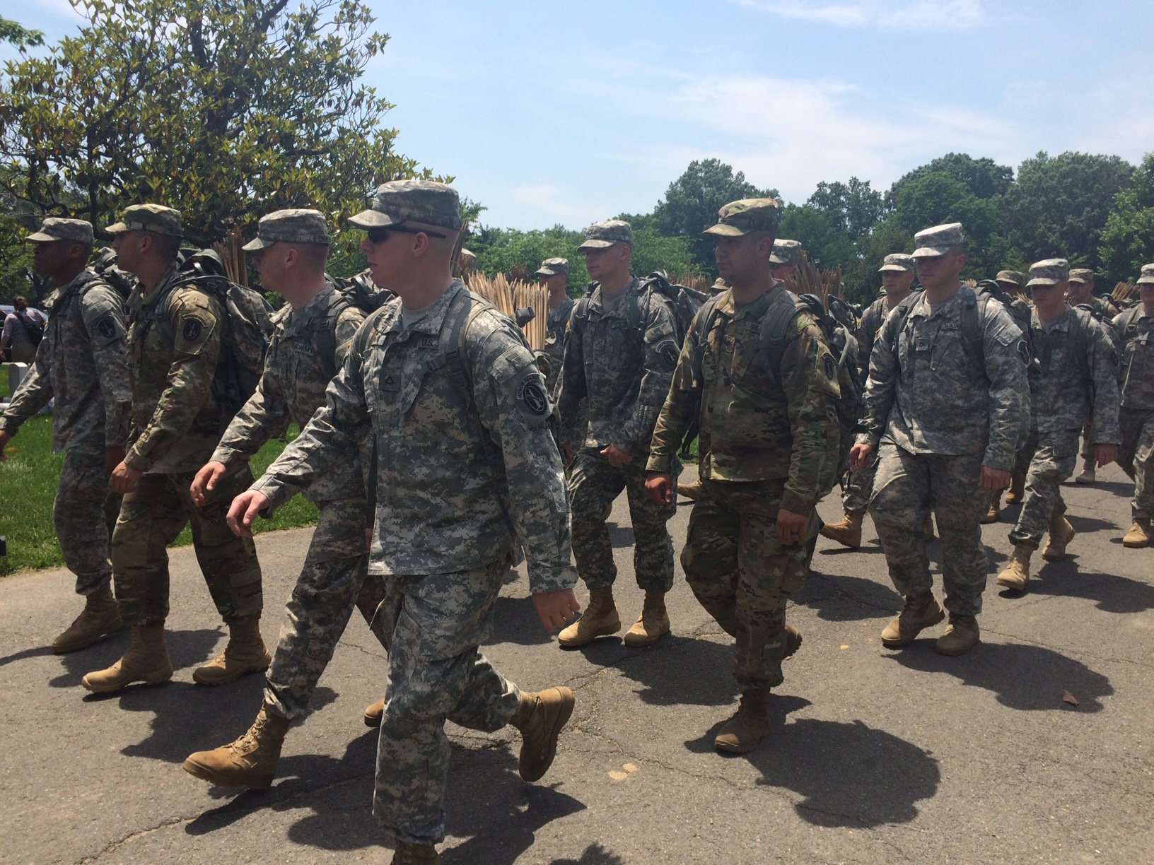 Soldiers place 230K flags in annual event at Arlington National Cemetery