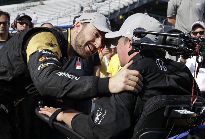 Canada's James Hinchcliffe grabs 100th Indy 500 pole